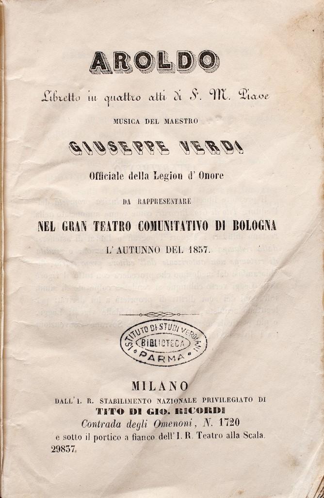 Aroldo (1857)