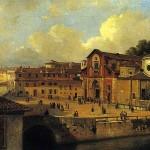 Chiesa di San Marco a Milano del pittore Luigi Bisi, sec. XIX (Museo di Milano)