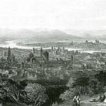 Veduta di Parma, 1850