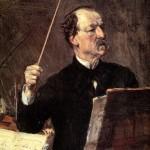Ritratto di Emanuele Muzio unico allievo di Giuseppe Verdi, sec. XIX seconda metà