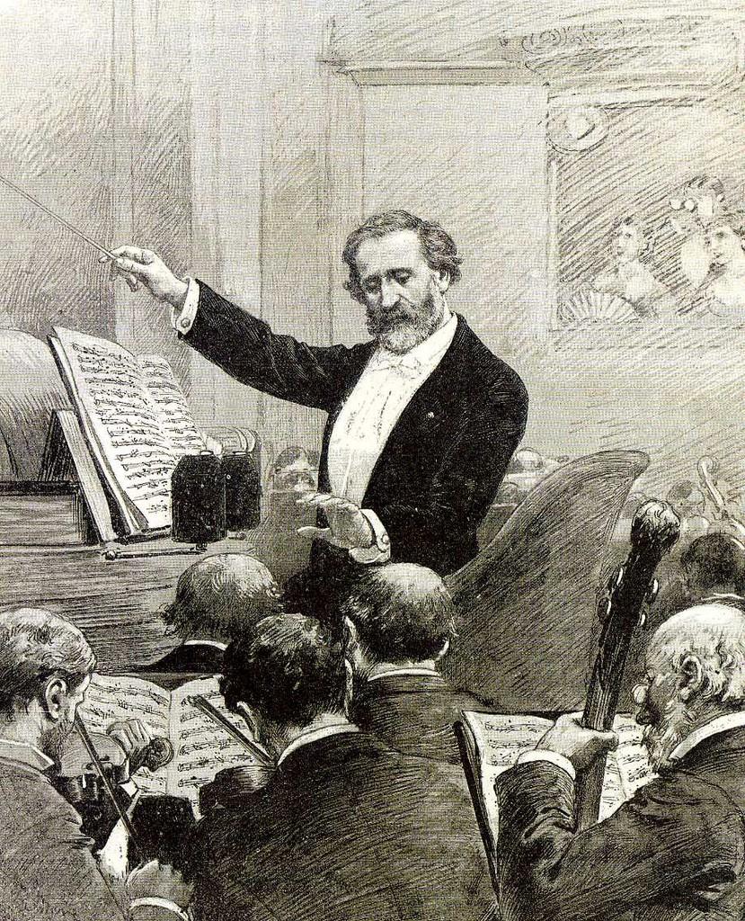 M. Adrien Marie, Giuseppe Verdi, Parigi 1880