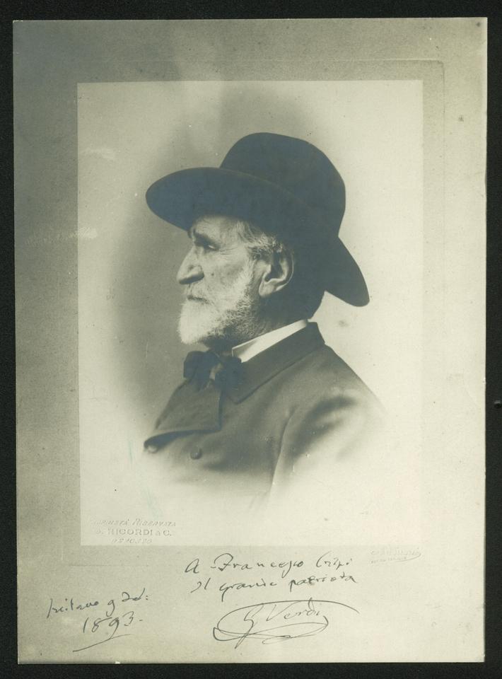 Giuseppe Verdi, 9 settembre 1893