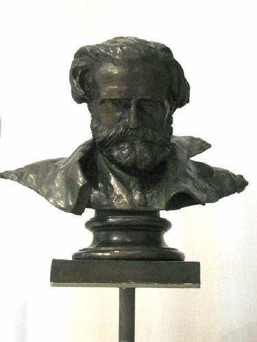 Vincenzo Gemito, busto di Giuseppe Verdi, busto,1875