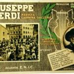 Locandina del film di Carmine Gallone, Giuseppe Verdi, 1938 (Collezione privata)