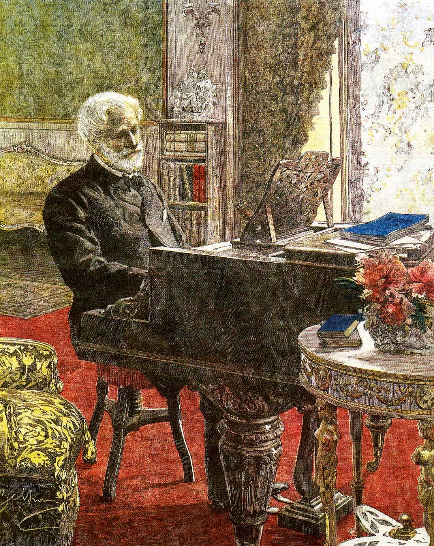 Giuseppe Verdi, ritratto, 1899