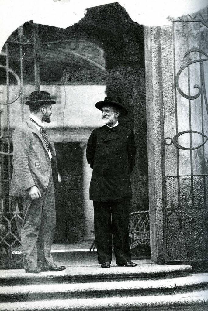 Tito II Ricordi e Giuseppe Verdi, Milano 1892