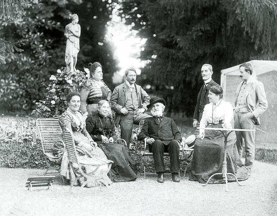 Giulio Rossi, Giuseppe Verdi a Villa Verdi, 1884