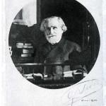 Verdi alla scrivania nel Grand Hôtel di Milano, 1900
