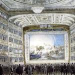 Il proscenio del Teatro La Fenice di Venezia