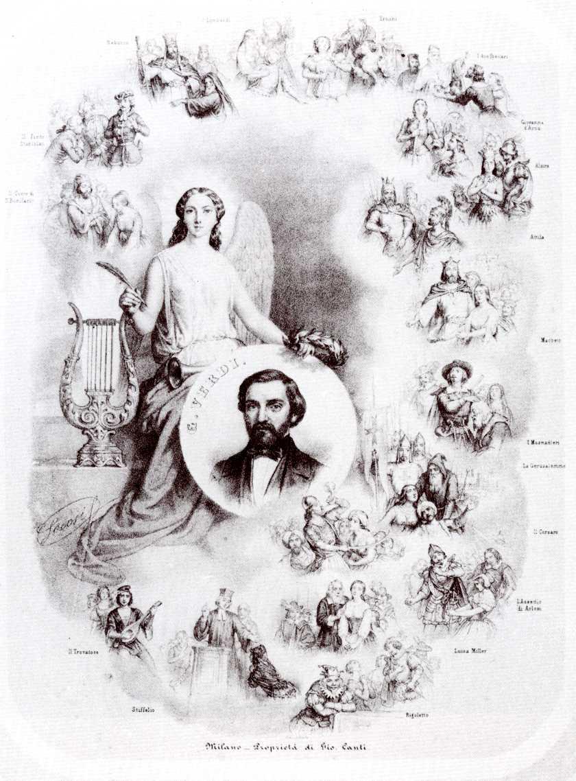 Giuseppe Verdi, sec. XIX