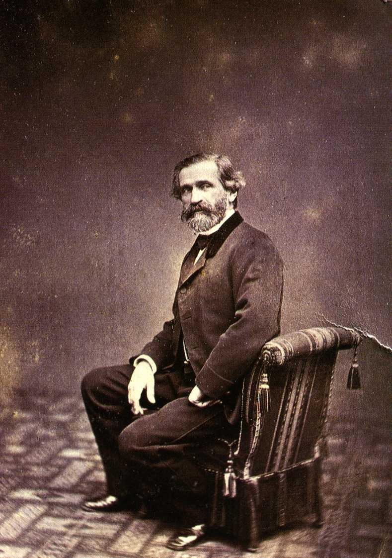 Giulio Rossi, Giuseppe Verdi, 1874