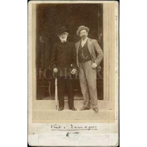 Giuseppe Verdi e Francesco Tamagno, Montecatini Terme 1899